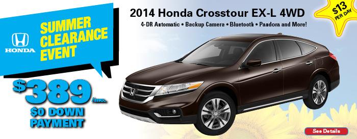 Honda Crosstour Special