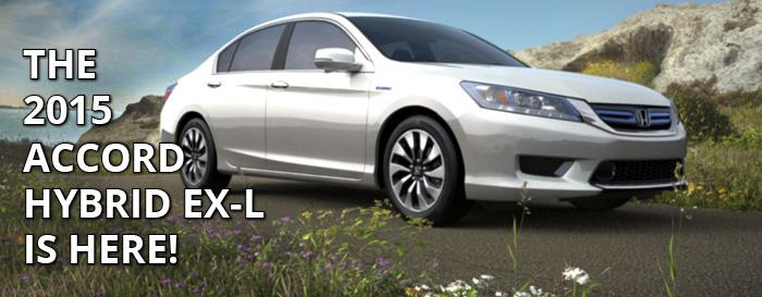 The 2015 Honda Accord Hybrid EX-L is here