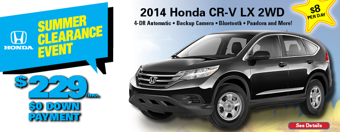 Honda CR-V LX Special