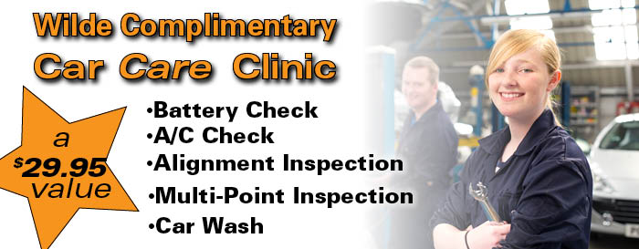Complimentary Car Care Clinic