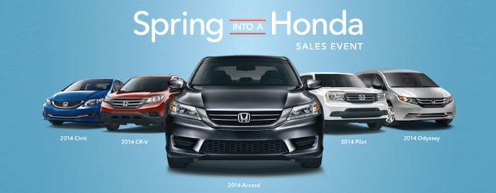 Spring into a Honda Madison