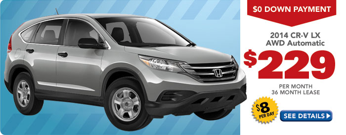 Honda Madison CRV Special