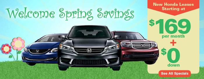 Madison Honda Monthly Specials