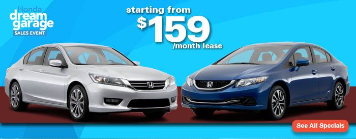 Madison Honda Monthly Specials