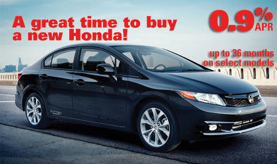 Great Finance Offers at Wilde Honda