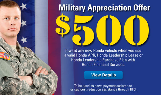 Honda Military Discount