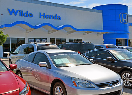 Wilde Honda Finance Department