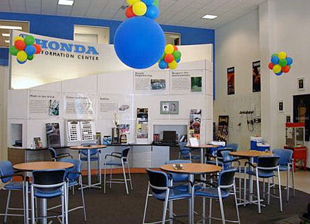 Wilde Honda Sales Showroom