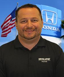 Kevin Allen Used Car Sales Director Wilde Honda