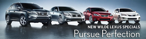 Wilde Lexus Spring Fever Specials