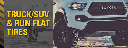 Truck/Suv and Run Tire Special