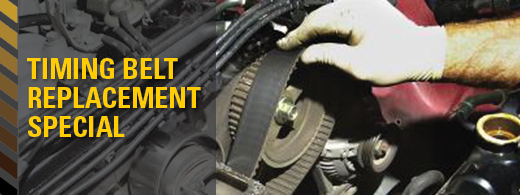 Timing Belt Replacement Special