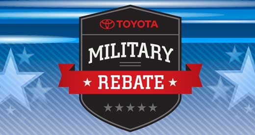 Milwaukee Toyota Military Rebate