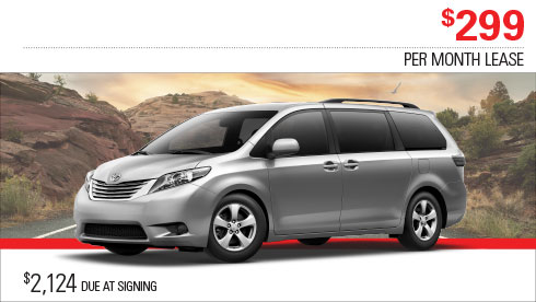 Milwaukee Toyota Sienna LE Special