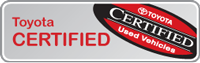 certified used toyotas search button