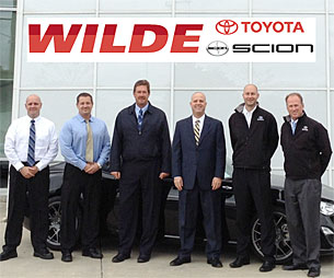 Wilde Toyota Managers
