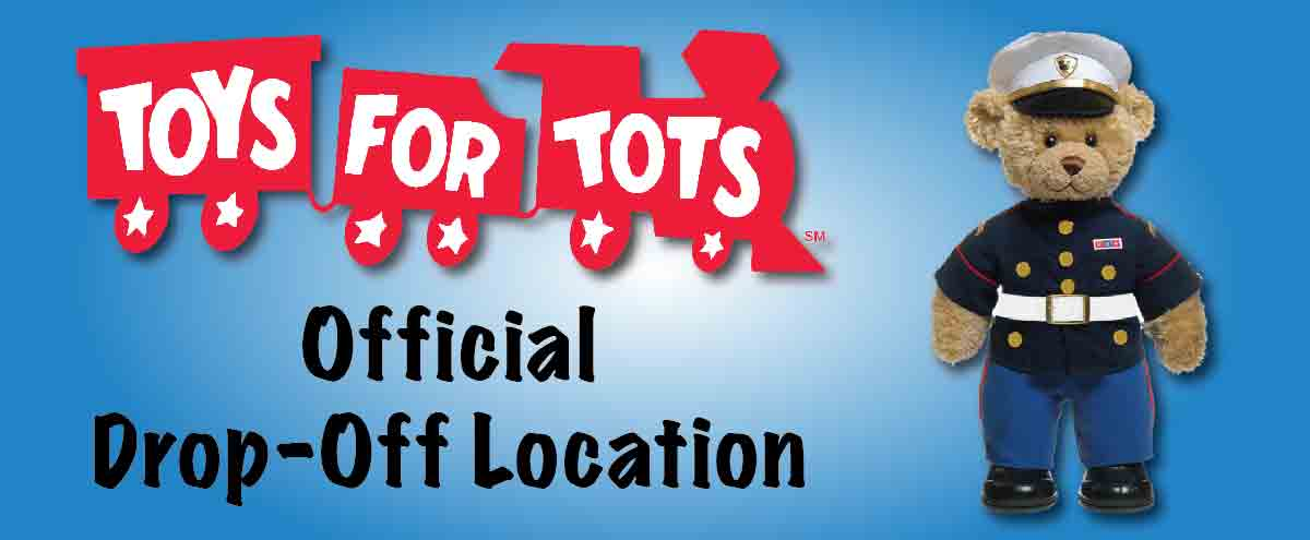 Toys for Tots - Official Drop-Off Location
