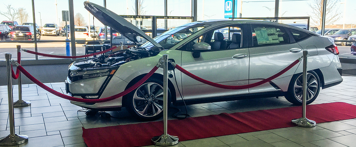 Honda Clarity Family Named 2018 Green Car of the Year