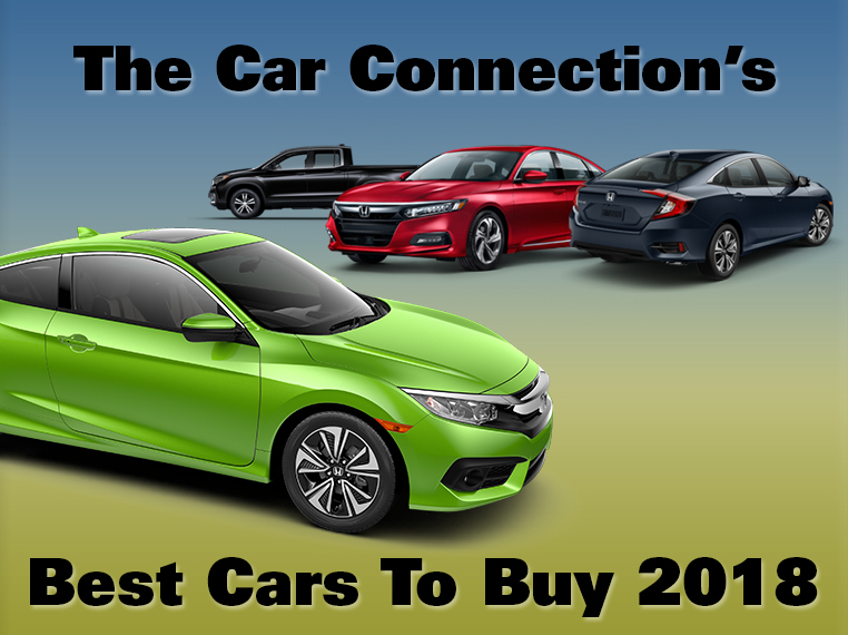 Honda Named in The Car Connection's Best of 2018
