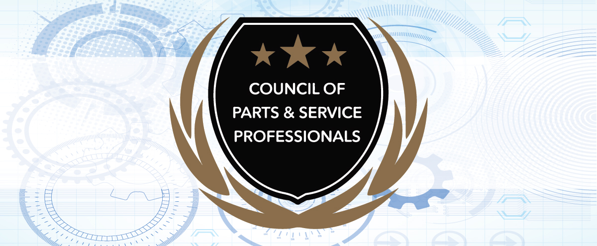 Wilde East Towne Honda is Part of the Council of Parts & Service Professionals!