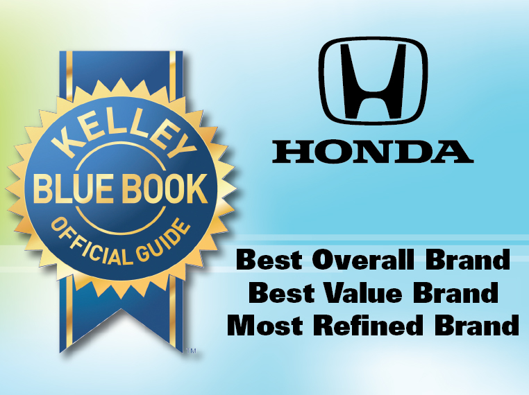 Honda Named 'Best Overall Brand,' Best Value Brand' and 'Most Refined Brand' by 2018 KBB Brand Image Awards