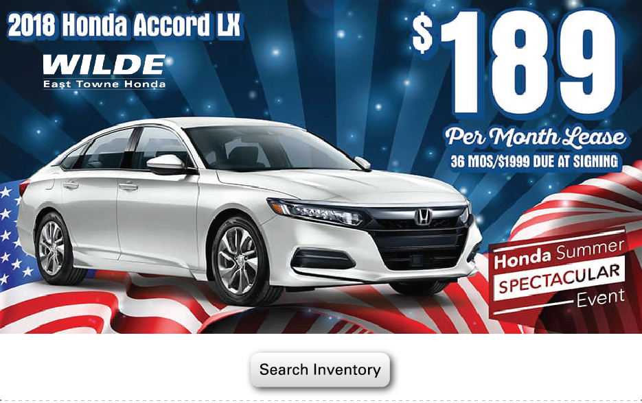 2018 Honda Accord LX Sedan, AT
