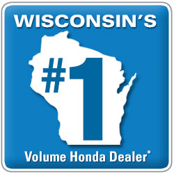 Wisconsin's #1 Volue Honda Dealer