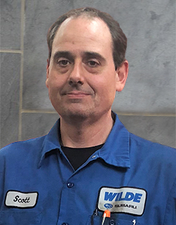 Scott Hart Senior Master Technician at Wilde Subaru