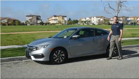 Honda Civic Coupe Video Test Drive Milwaukee